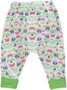 Rockin' Baby Girls Bug Print Leggings