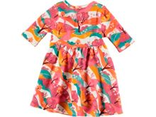 Rockin' Baby Girls Woodland Print Jersey Dress