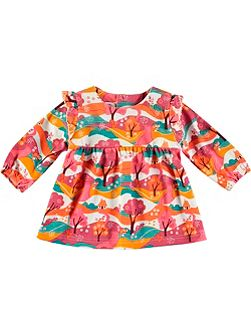 Girls Woodland Print Tunic