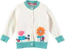 Rockin' Baby Girls Cotton Flower Cardigan