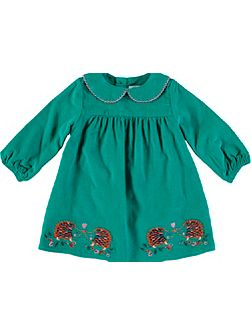 Girls Long Sleeve Hedgehog Tunic Top