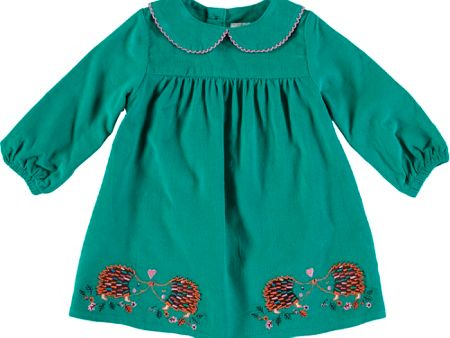 Rockin' Baby Girls Long Sleeve Hedgehog Tunic Top
