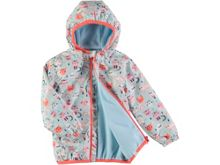 Rockin' Baby Girls Cat Print Rain Mac Coat