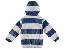 Rockin' Baby Blue Stripe Rain Mac