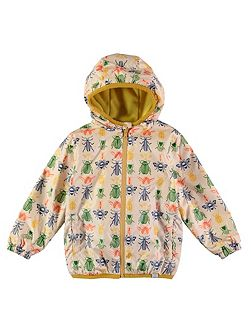 Boys Bug Print Rain Mac Coat