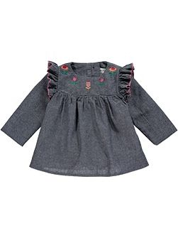 Girls Chambrey Tunic