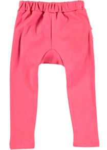 Rockin' Baby Girls Pink Frill Leggings