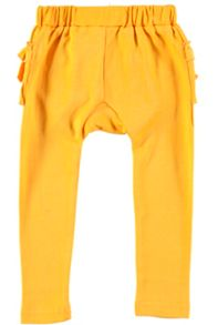 Rockin' Baby Yellow Frill Legging
