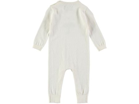 Rockin' Baby Boys Intarsia Knitted Footless All-in-One