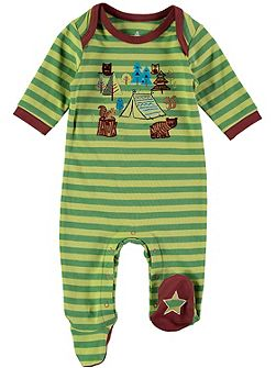 Boys Forest Scene Onesie