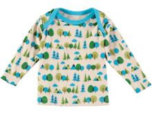 Rockin' Baby Boys Long Sleeve Forest Print T-Shirt