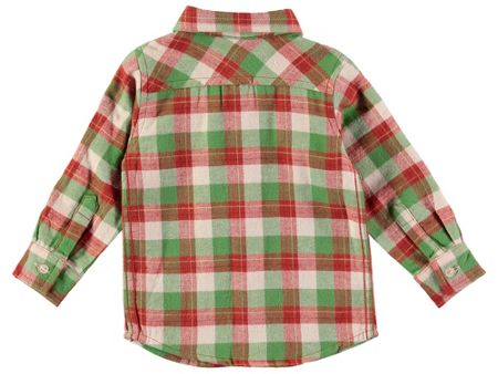 Rockin' Baby Boys Stone Checked Shirt