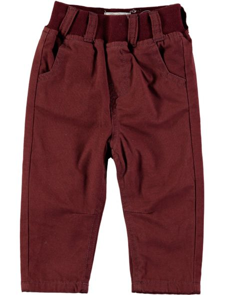 Rockin' Baby Boys Brown Pull-On Chinos