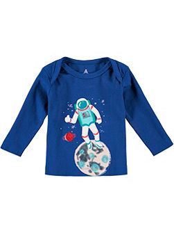 Boys Long Sleeve Astronaught T-Shirt