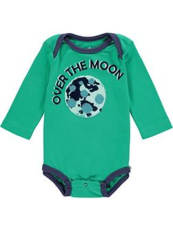Boys Over The Moon Babygrow