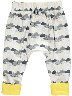 Boys Cloud Print Leggings