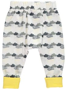 Rockin' Baby Boys Cloud Print Leggings