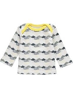 Boys Cloud Print T-Shirt