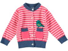 Rockin' Baby Girls Bird Stripe Cardigan