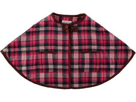 Rockin' Baby Girls Pink Checked Cape