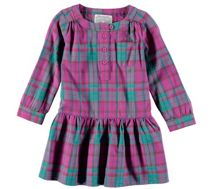 Rockin' Baby Pink Check Dress