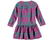 Rockin' Baby Girls Pink Check Cotton Dress