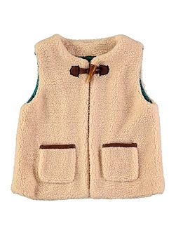 Girls Borg Gilet