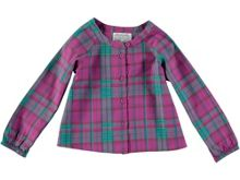 Rockin' Baby Girls Pink Check Blouse