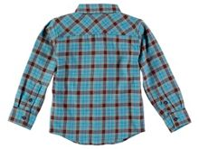 Rockin' Baby Boys Blue Check Cotton Shirt