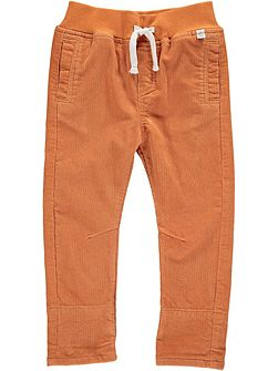 Boys Rust Cord Trousers