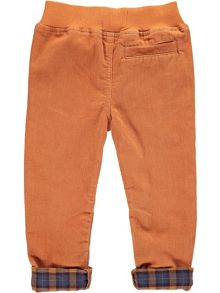 Rockin' Baby Boys Rust Cord Trousers