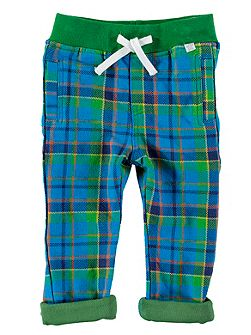 Boys Checked Trousers
