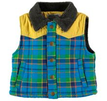 Rockin' Baby Checked Gilet