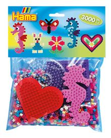 Hama Seahorse Pack - 3000 Beads