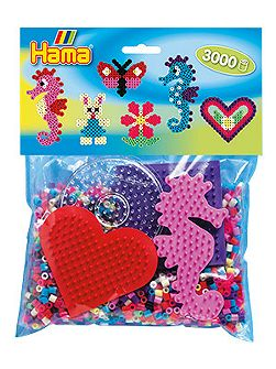 Seahorse Pack - 3000 Beads