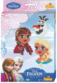 Hama Disney Frozen Heads Activity Set