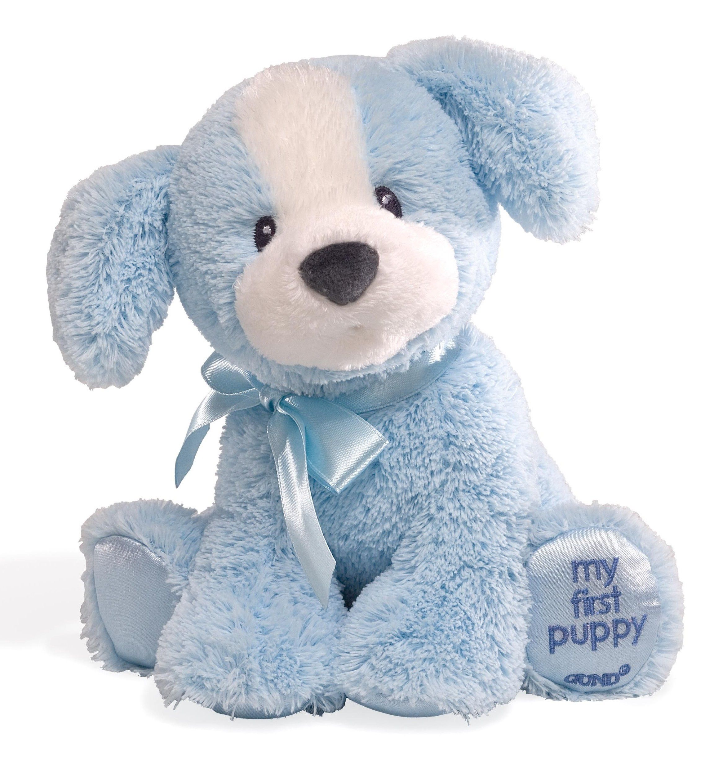Gund My First Puppy Small - Blue