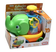 Fun Time Pull Along Edwin the Elephant