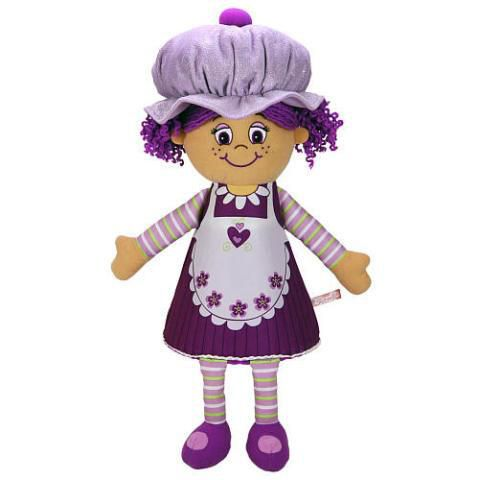 48cm Plum Little  Miss Muffin Doll