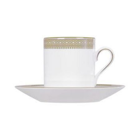 Wedgwood Lace Gold Bond Coffee Saucer