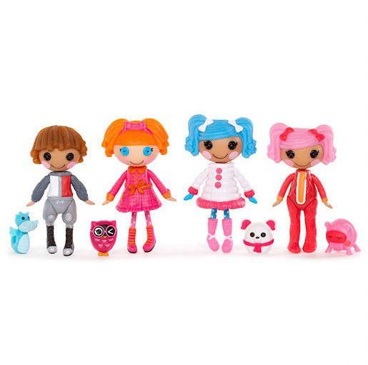 Mini Lalaloopsy Dolls 4 Pack - Set 3
