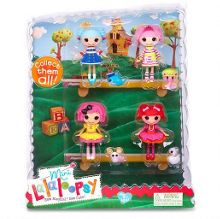 Mini Lalaloopsy Dolls 4 Pack - Set 7