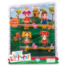 Mini Lalaloopsy Dolls 4 Pack - Set 8