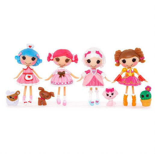 Mini Lalaloopsy Dolls 4 Pack - Set 4