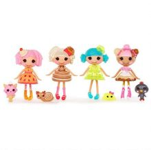 Mini Lalaloopsy Dolls 4 Pack - Set 1