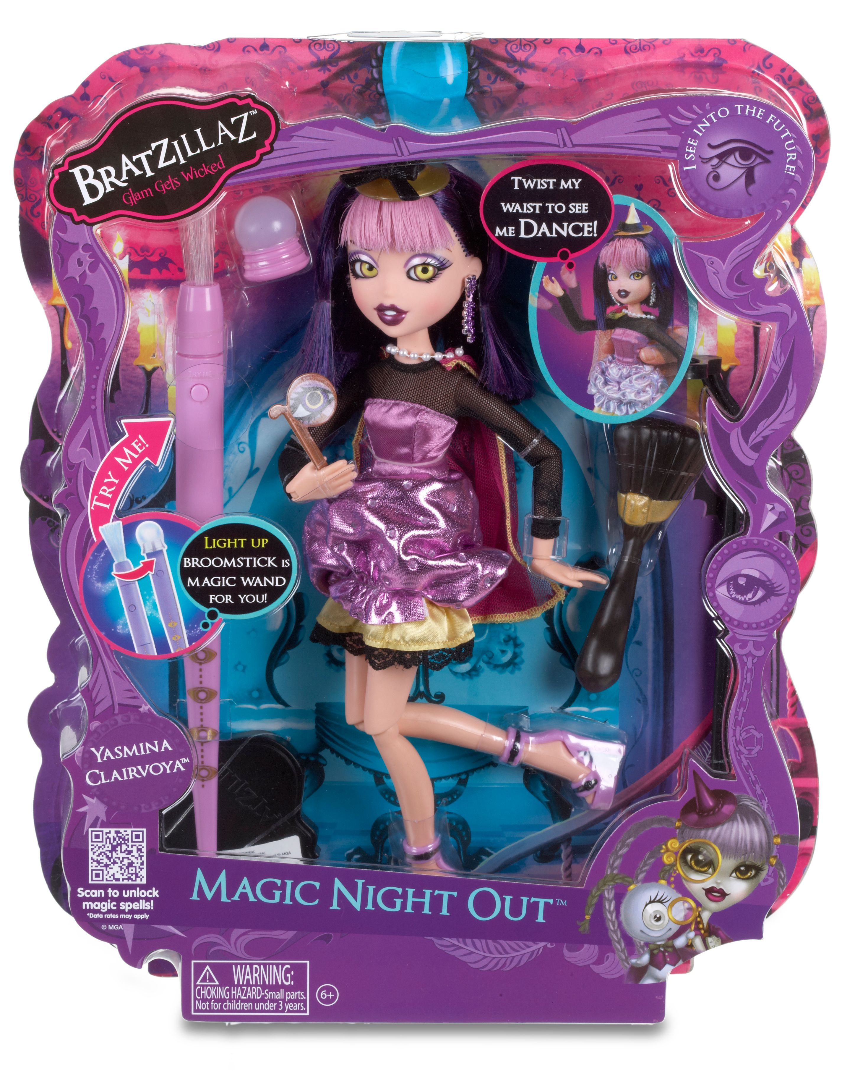 Yasmina Clairvoya Magic Night Out Doll