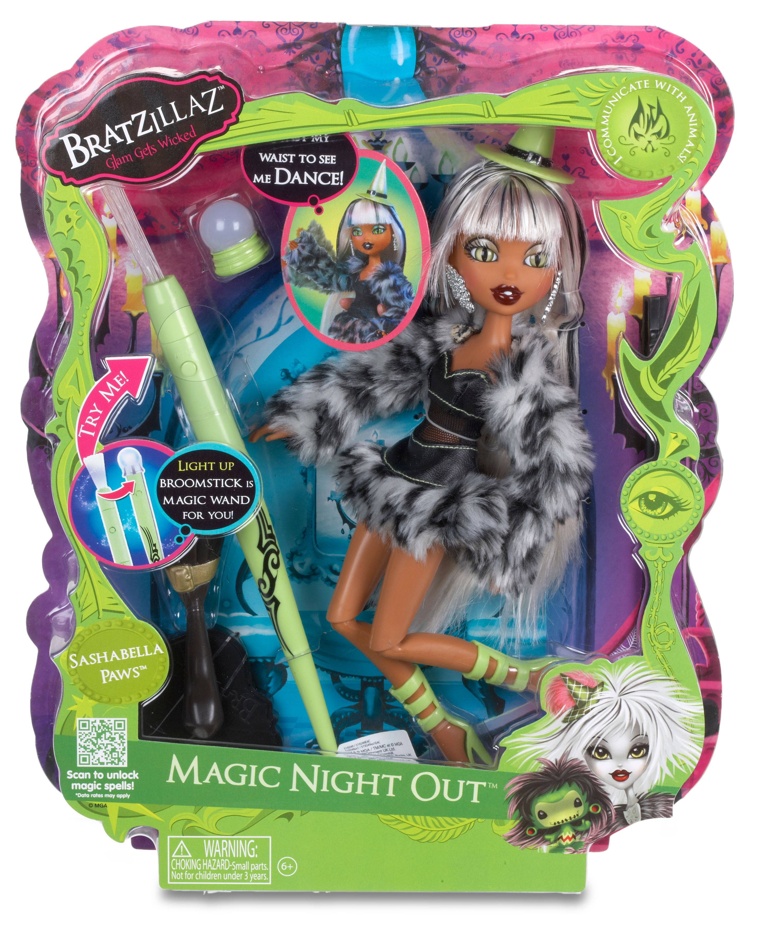 Sashabella Paws Magic Night Out  Doll