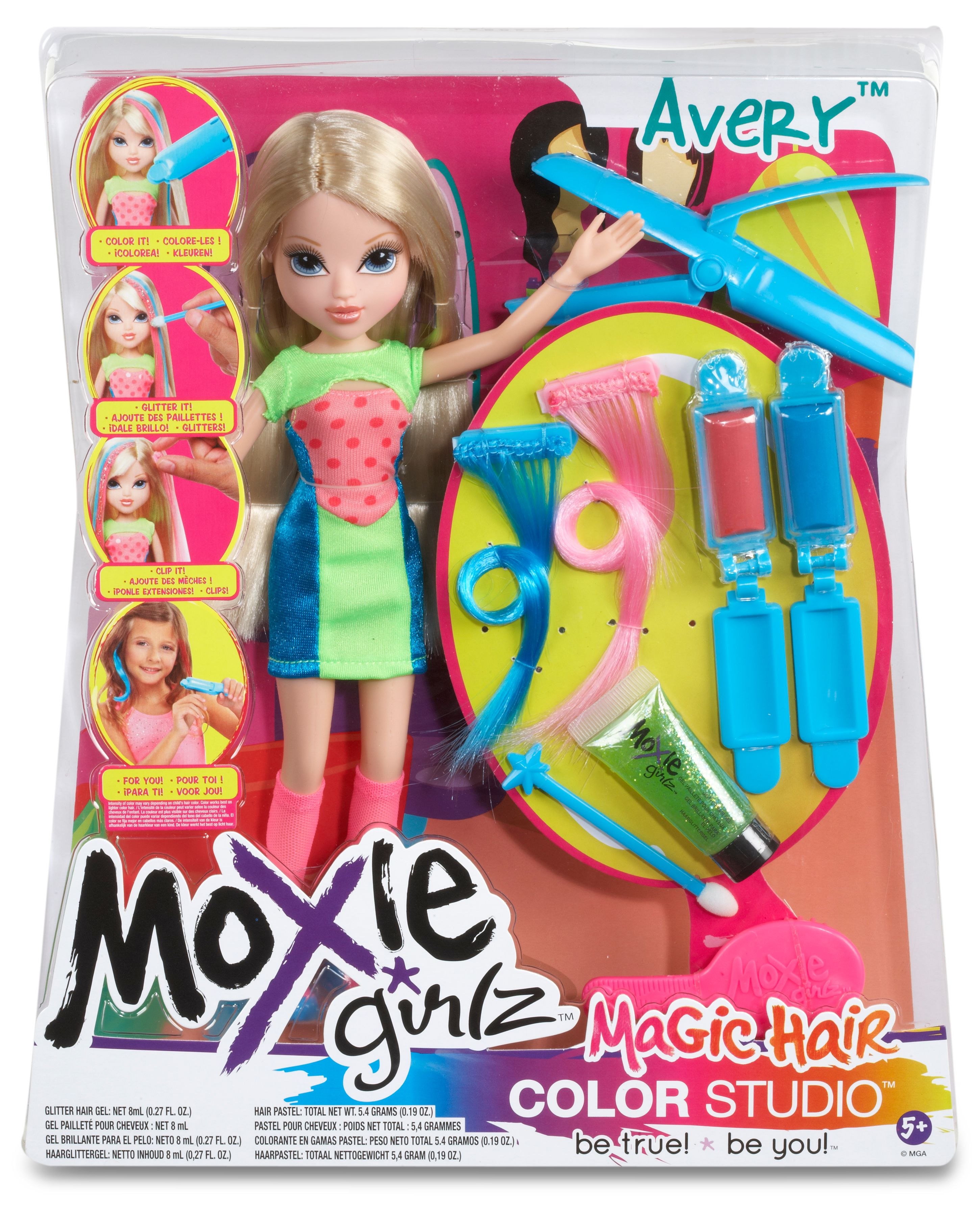 Moxie Girlz Avery Magic Hair Color Studio