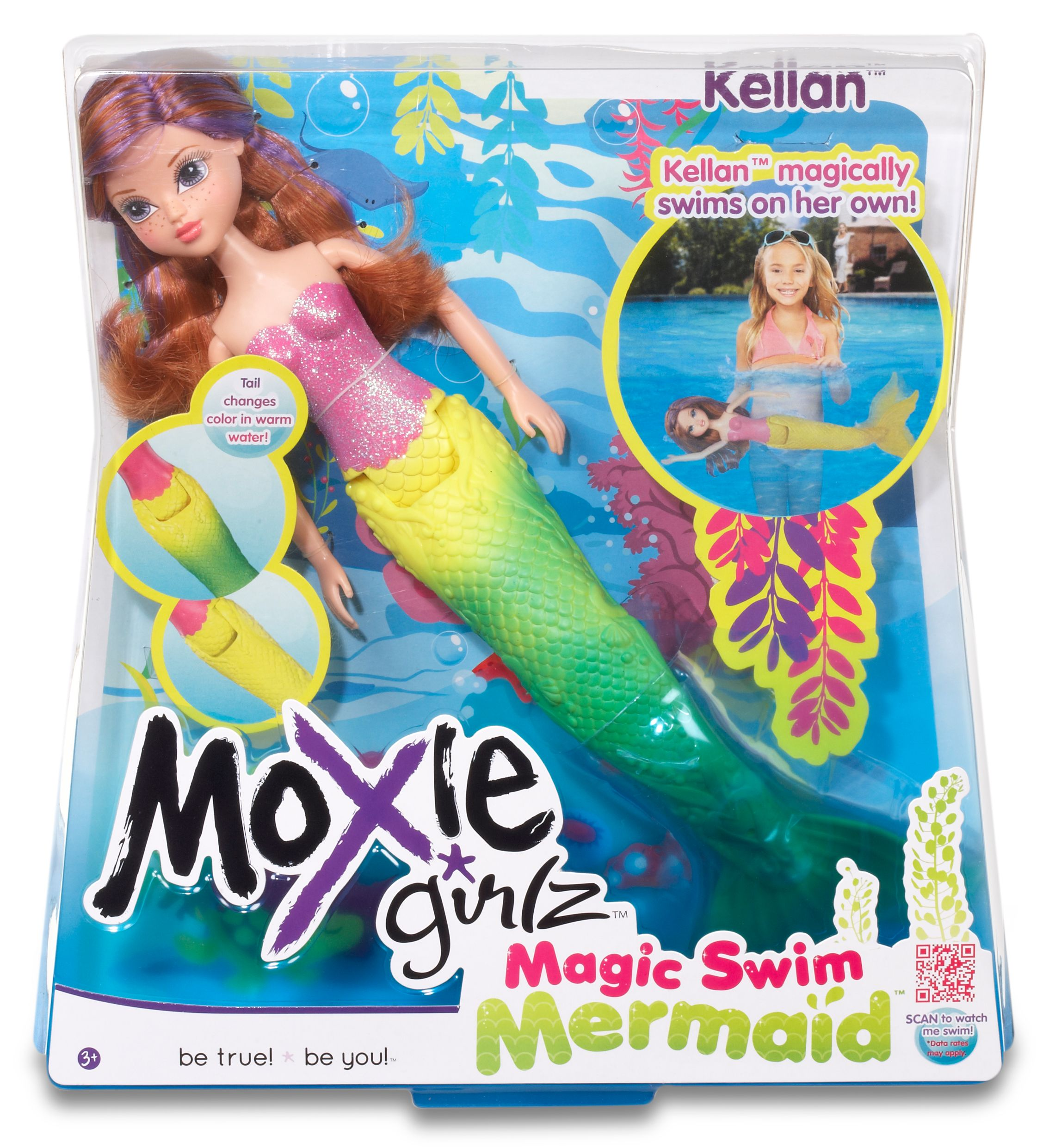 Moxie Girlz Magic Swim Kellan Mermaid