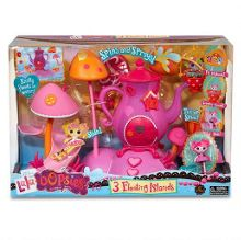 Lalaloopsy Mini LaLa Oopsie Playset 3 Floating Islands